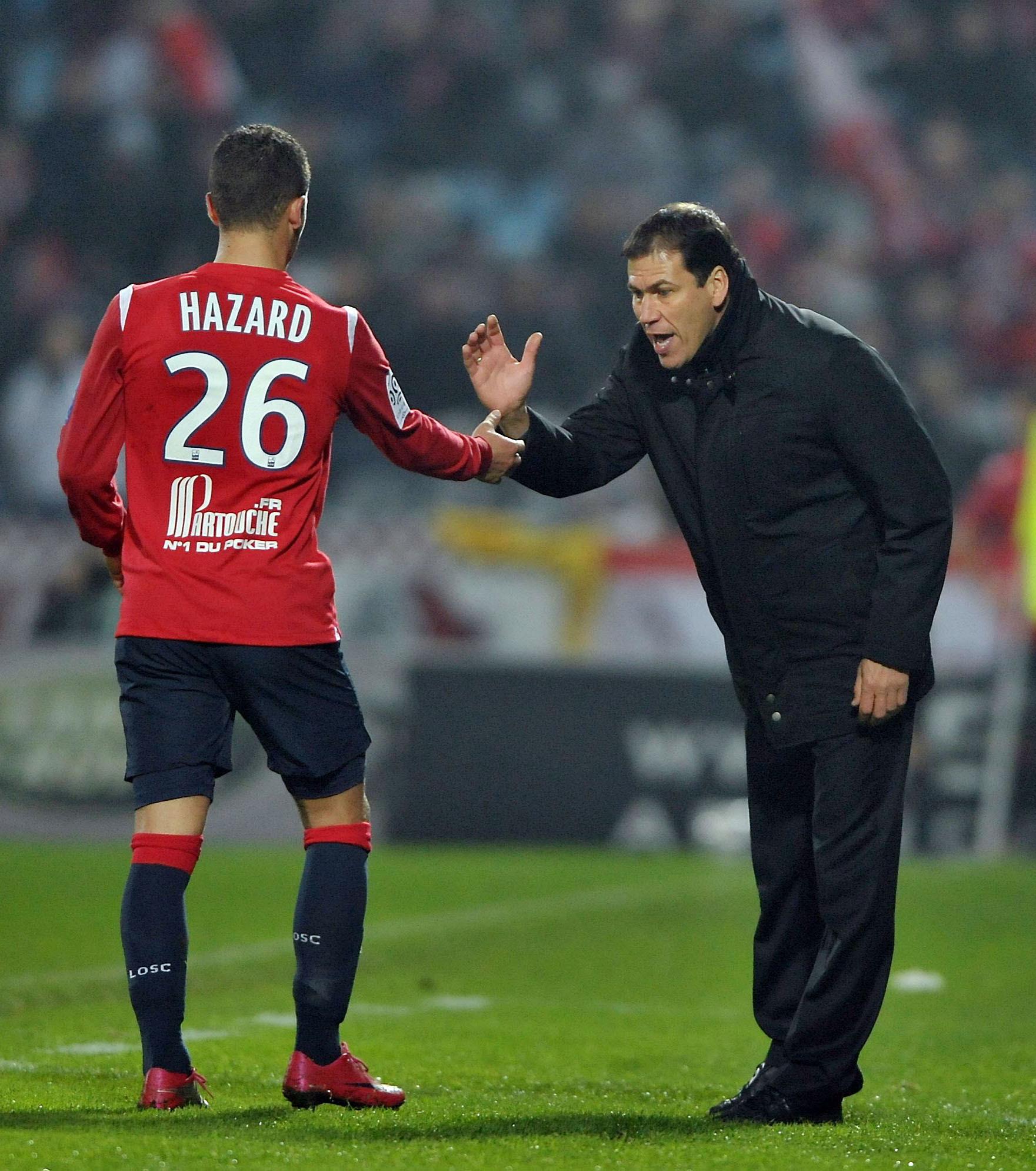 Rudi Garcia Eden Hazard