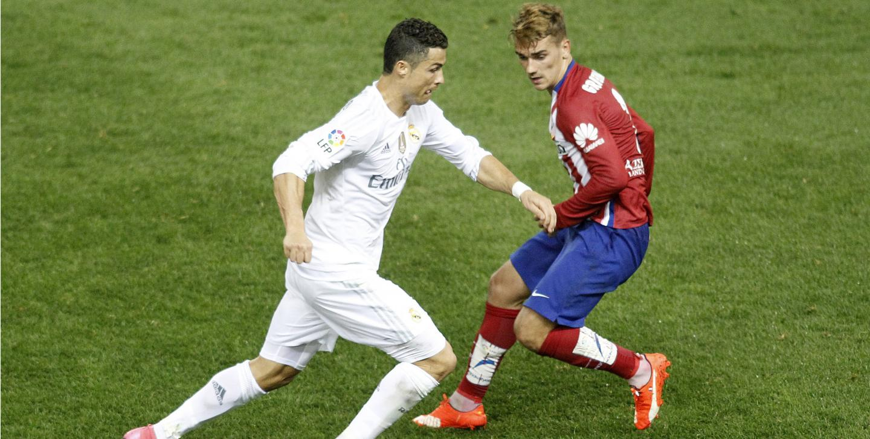 Cristiano Ronaldo Antoine Griezmann