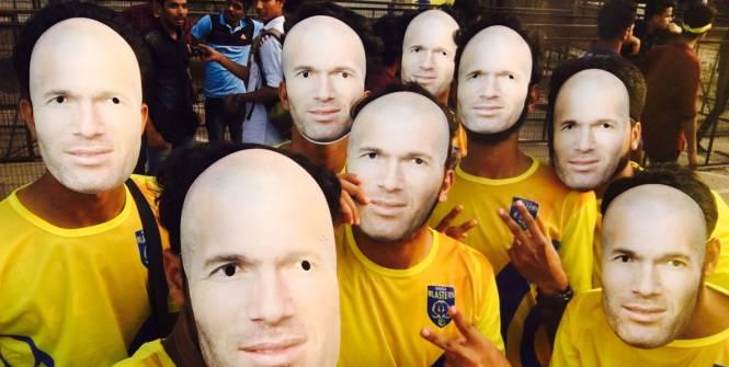 Masques Zidane