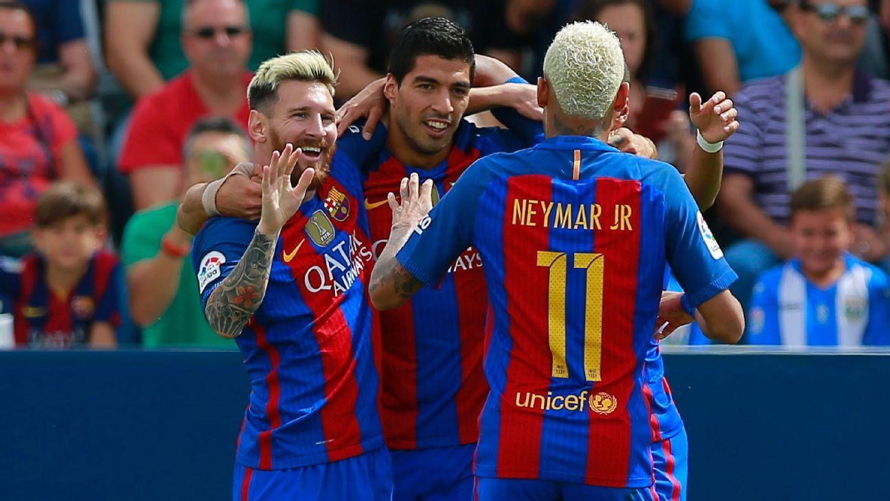 Neymar Suarez Messi