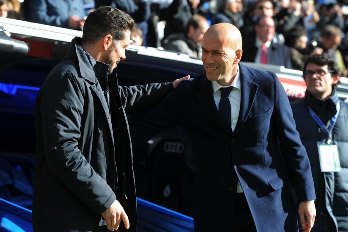 Zinédine Zidane Diego Simeone
