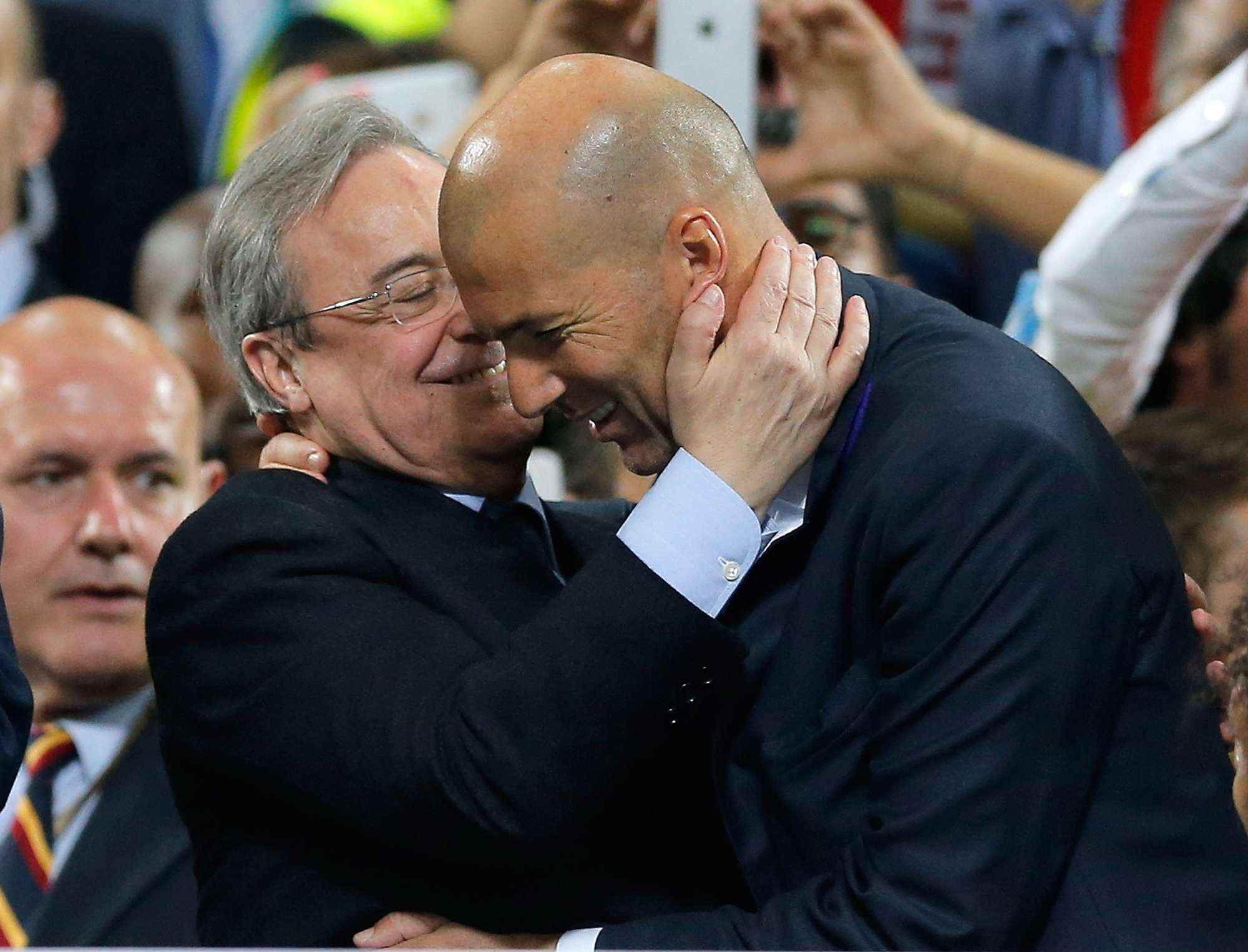 Real Madrid : ça se tend entre Zidane et Pérez !