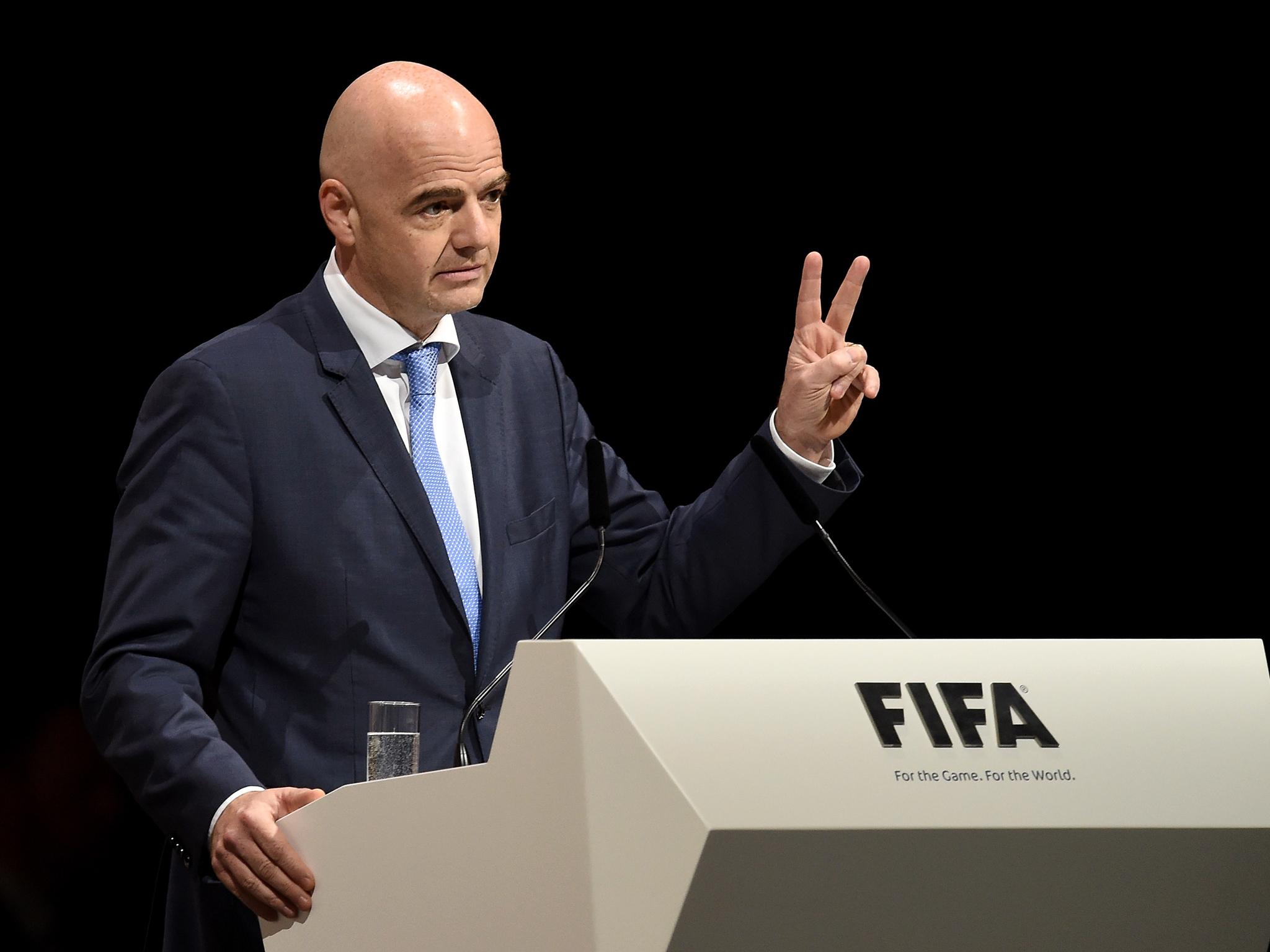 Les propositions dingues d'Infantino pour révolutionner la Coupe du Monde