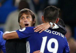 Diego Costa Antonio Conte