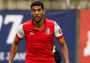 FUTEBOL - O Sporting de Braga venceu em Viseu, o AcadŽmico, por 3-0, em jogo da 3» eliminat—ria da Taa de Portugal. DJAVAN (Sp. Braga) GIL PERES/ASF