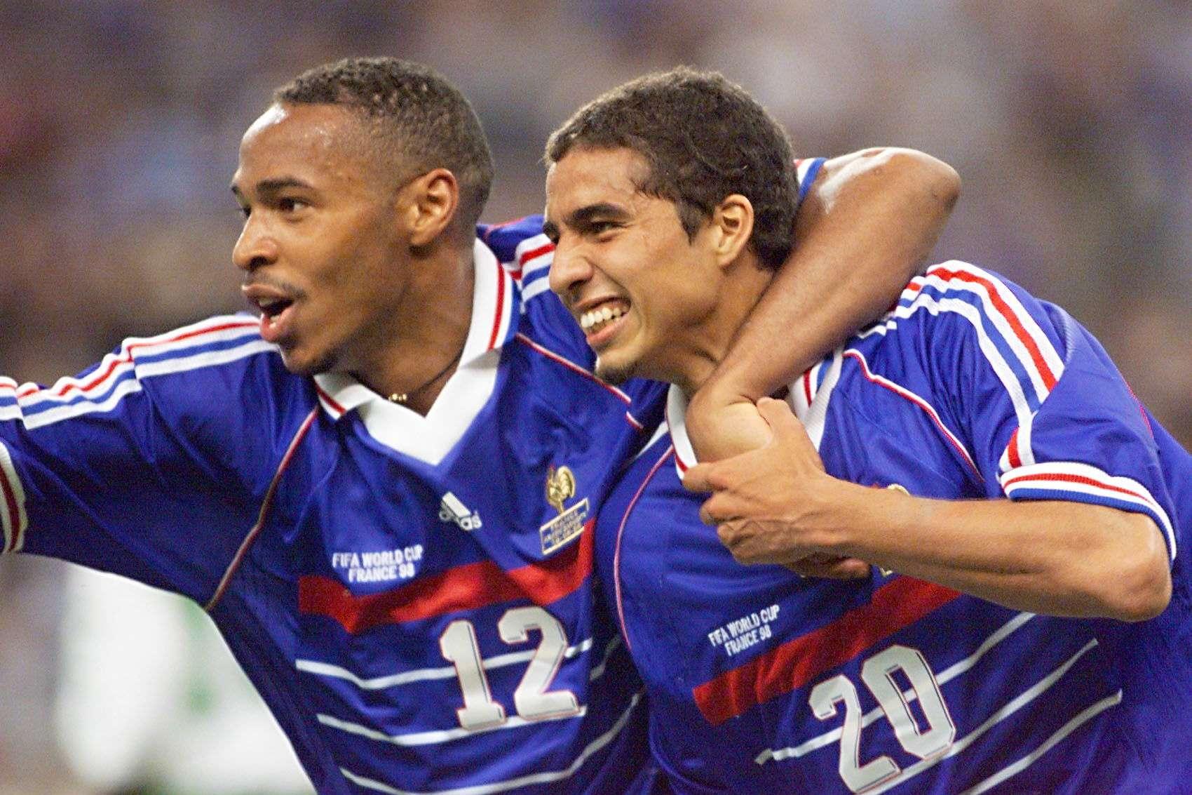 Les 10 meilleurs buteurs de l'équipe de France