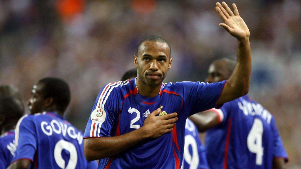 Les meilleurs buteurs de l'équipe de France