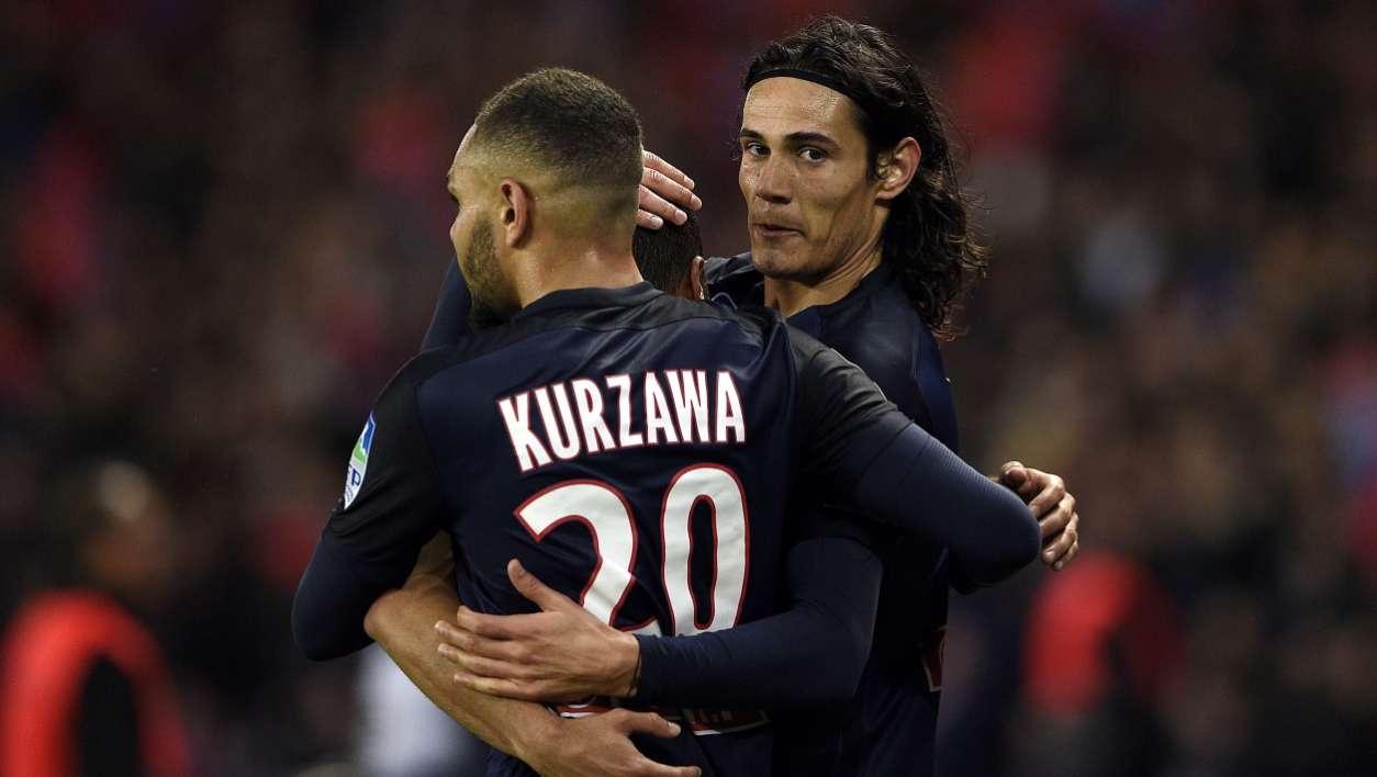 PSG-Anderlecht: but de Kurzawa ! (3-0)
