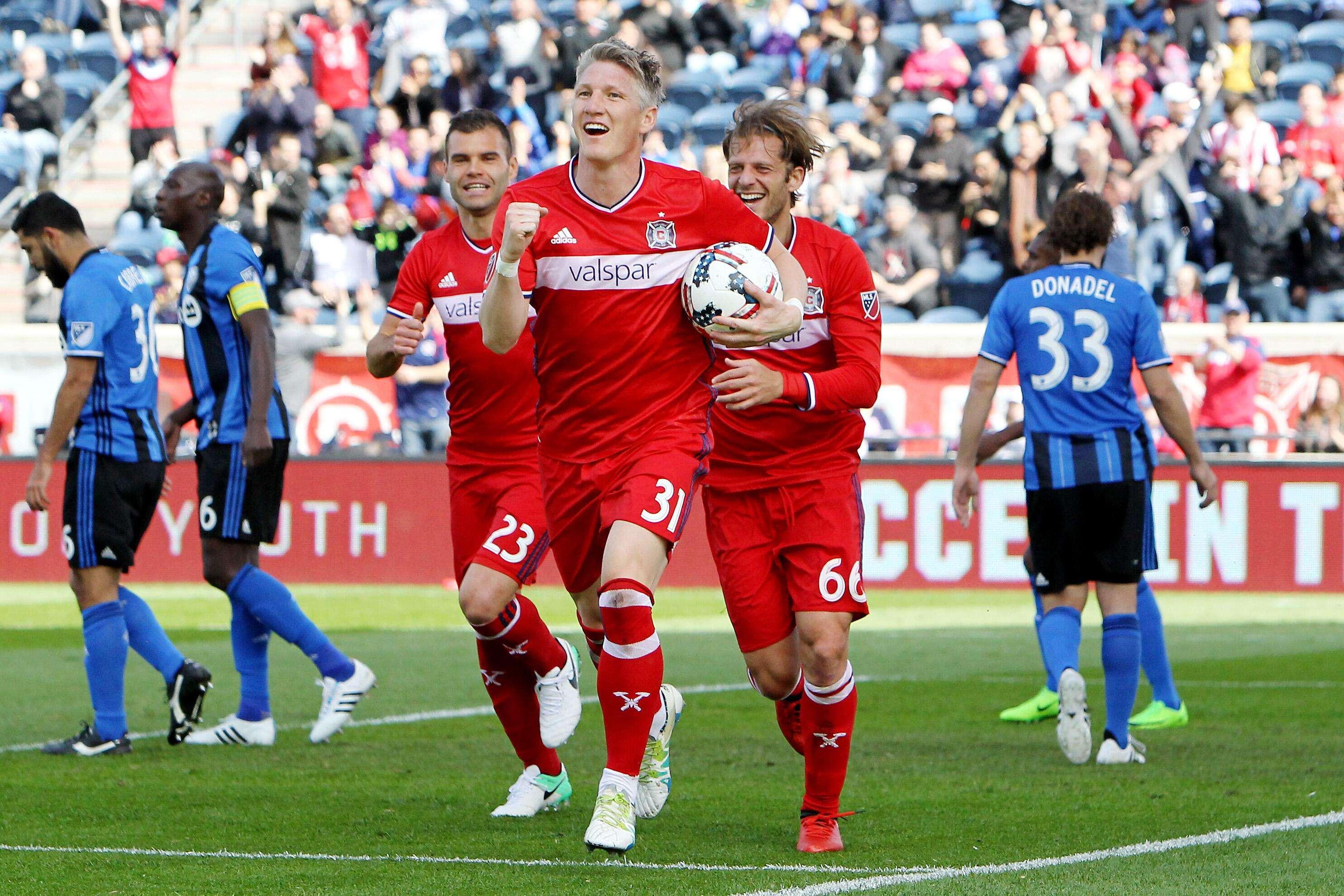 Les bons débuts de Schweinsteiger en MLS