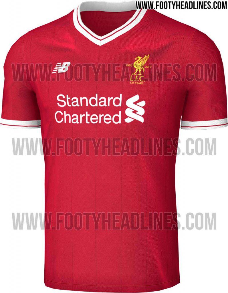 Maillot Domicile Liverpool 2017