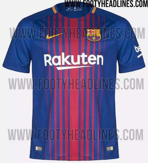 le maillot 2017 2018 de barcelone r v l transfert foot mercato. Black Bedroom Furniture Sets. Home Design Ideas