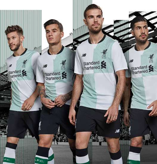 Maillot THIRD Liverpool 2017