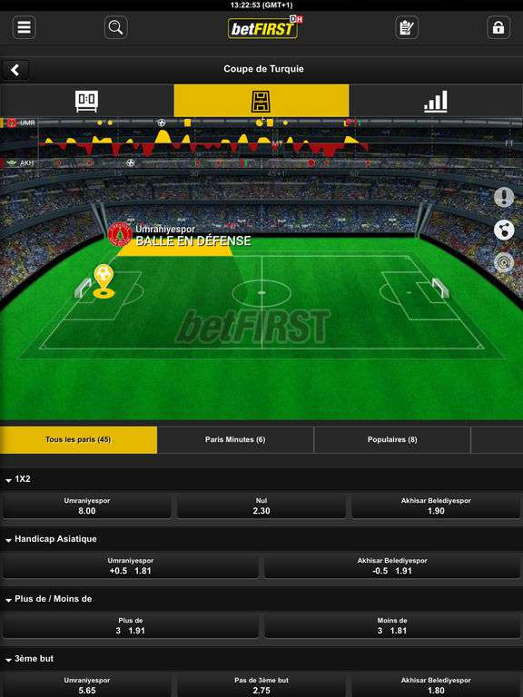 betfirst mobile