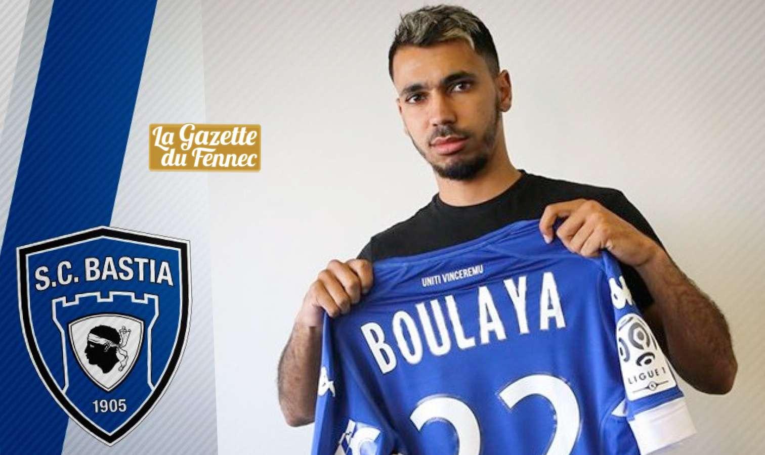Officiel : Boulaya quitte Bastia et file en Espagne