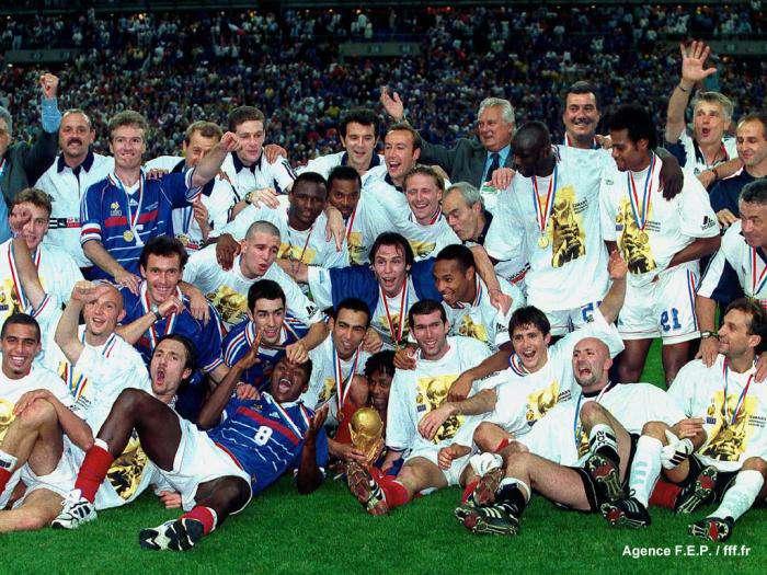 12 juillet 1998 le plus beau jour du foot fran ais transfert foot mercato - Victoire de la coupe du monde 1998 ...