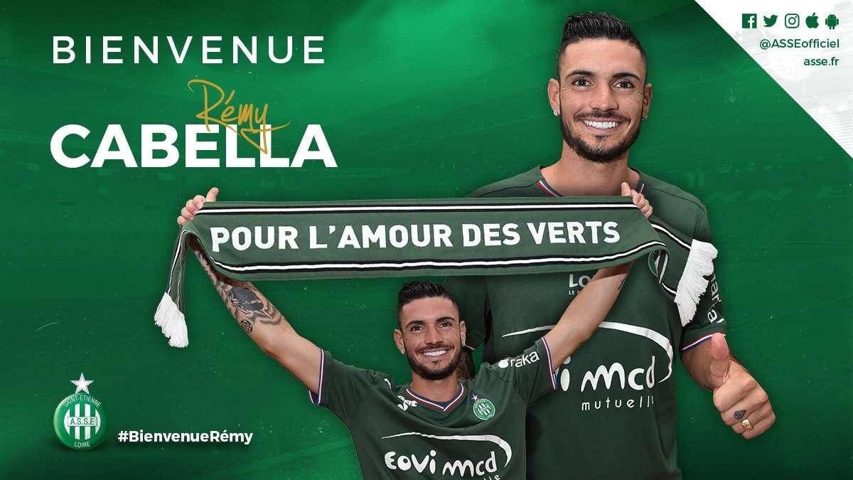 Le FC Krasnodar officialise l'arrivée de Rémy Cabella