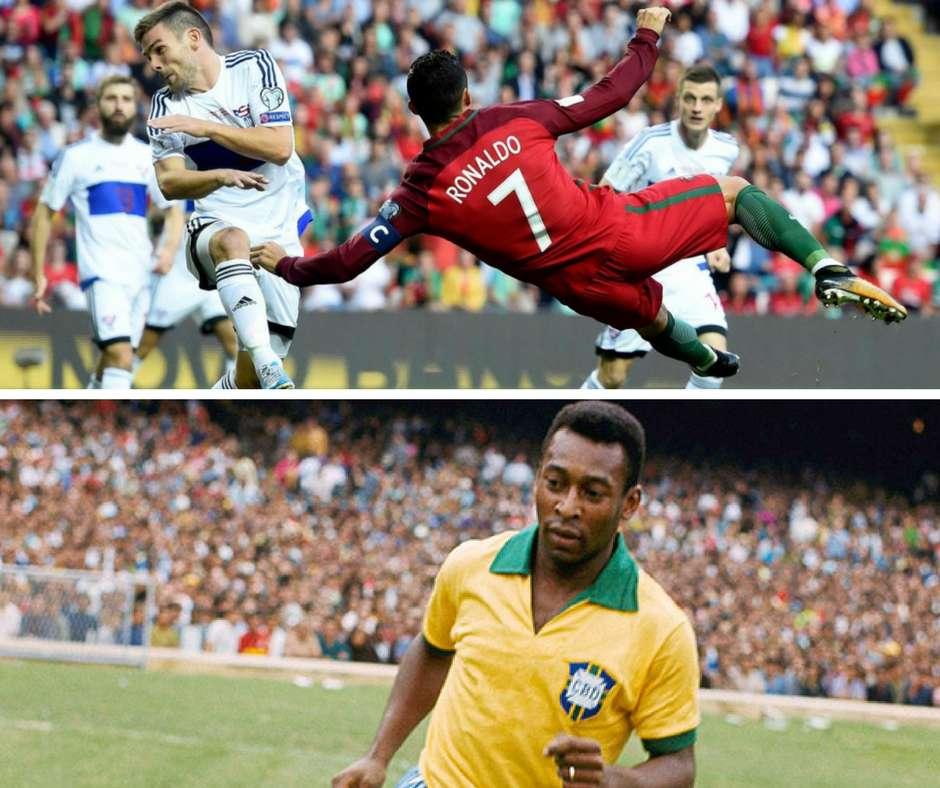 Lucas Dépasse Son Record De Buts: Pelé Défie Ronaldo De Battre Son Record De Buts En