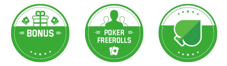 bonus de bienvenue Poker