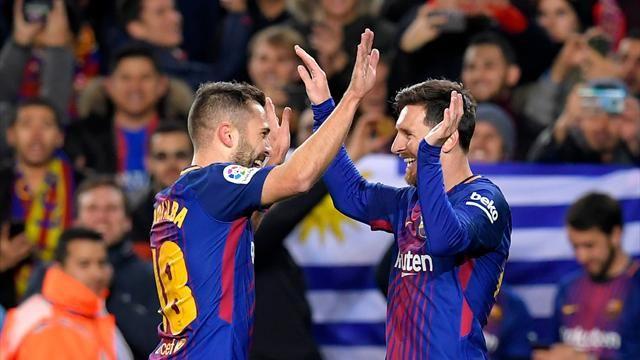 Le PSG et la Juventus surveillent la situation de Jordi Alba