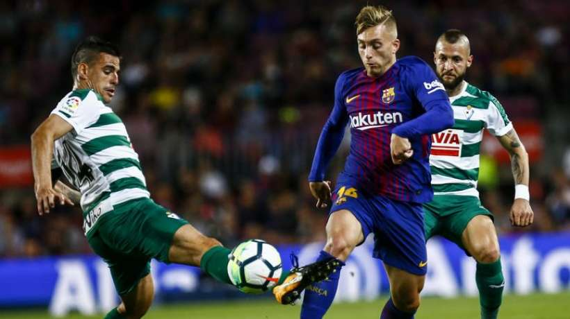 fc barcelone un club espagnol pousse pour deulofeu transfert foot mercato. Black Bedroom Furniture Sets. Home Design Ideas