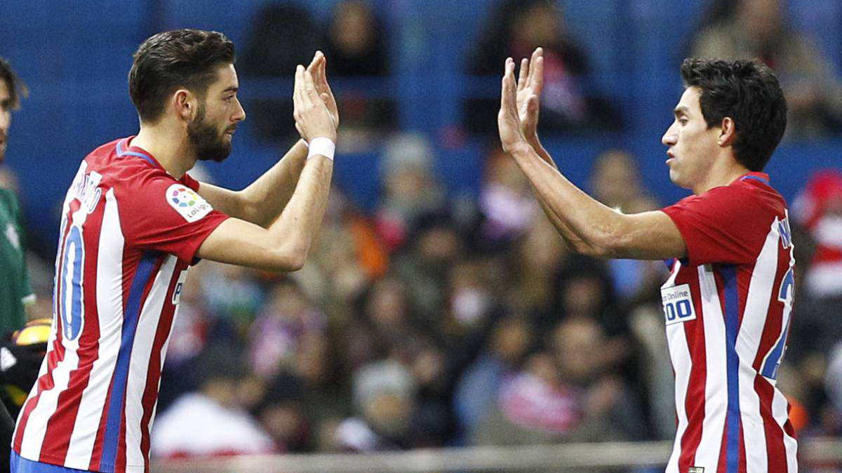 Officiel : Carrasco et Gaitan quittent l'Atletico