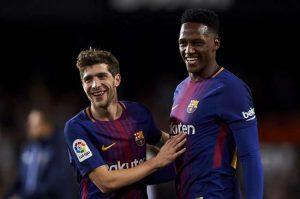 FC Barcelone : Accord trouvé pour le départ de Mina ?