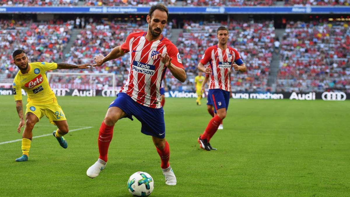 Officiel : Juanfran prolonge l'aventure à l'Atletico