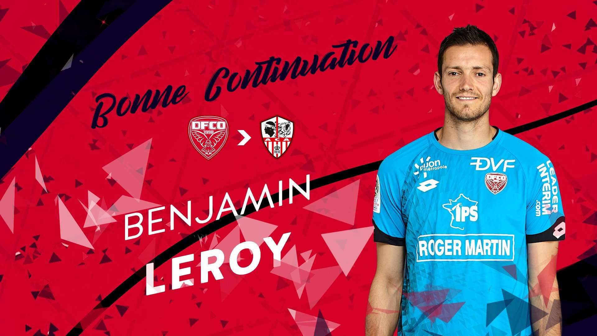 Officiel : Leroy quitte Dijon