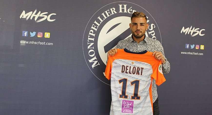 Officiel : Andy Delort signe à Montpellier !