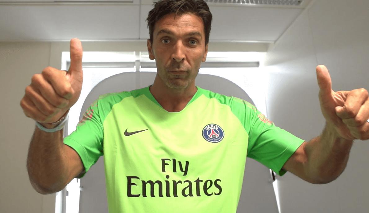 PSG : les premiers mots de Gianluigi Buffon !