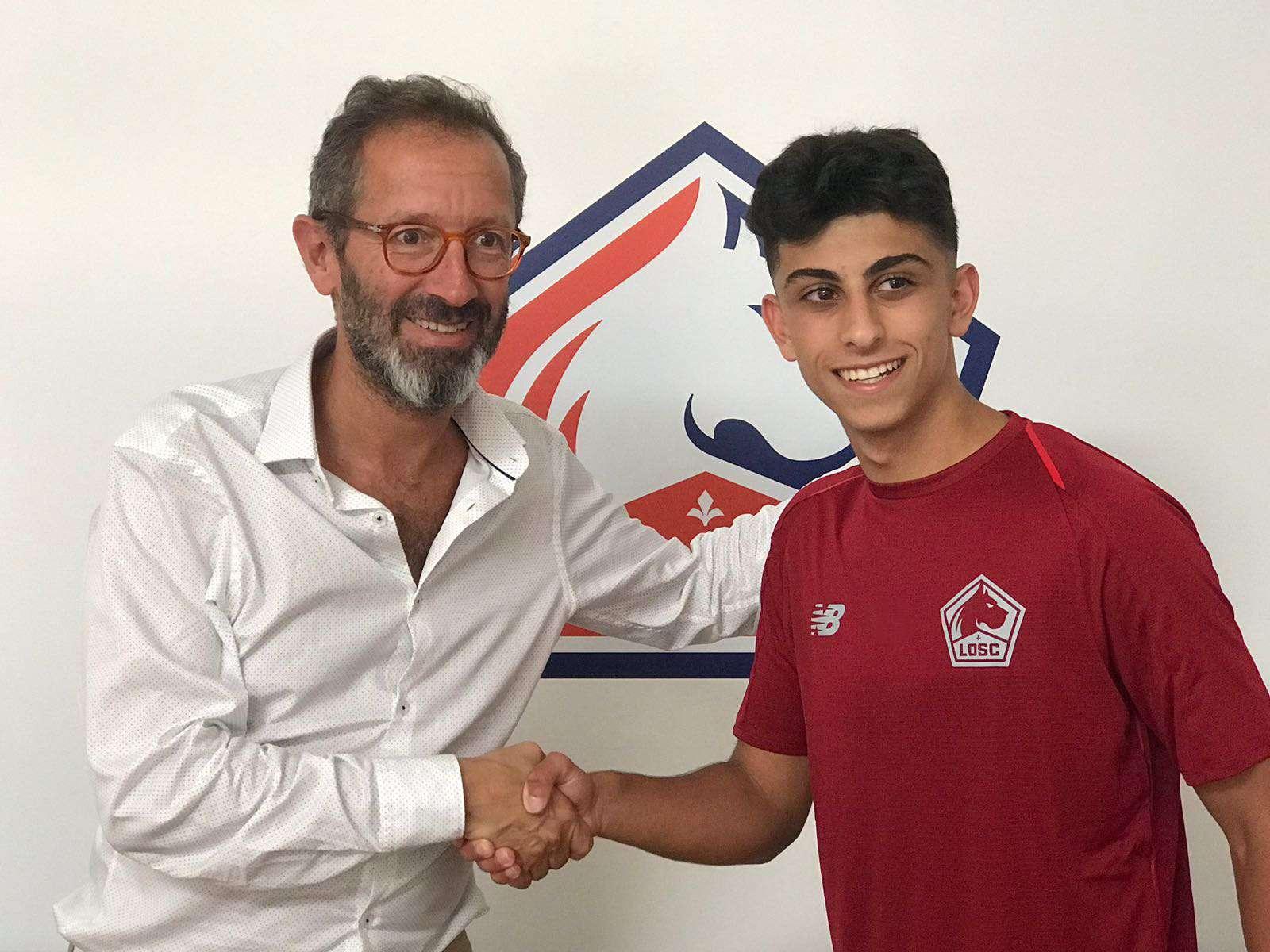 Officiel : le LOSC s'offre un jeune joueur de 16 ans !