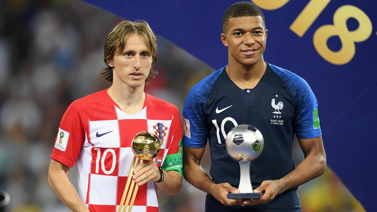 Kylian Mbappé joueur français de l'année 2018 France Football !
