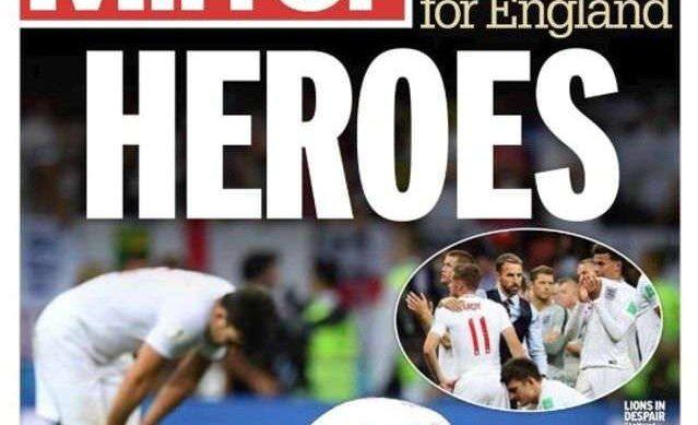 Coupe du monde : l'Angleterre salue ses «héros»