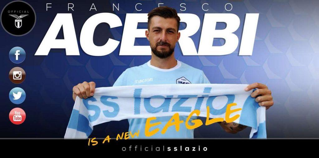 Officiel : La Lazio s'offre Acerbi