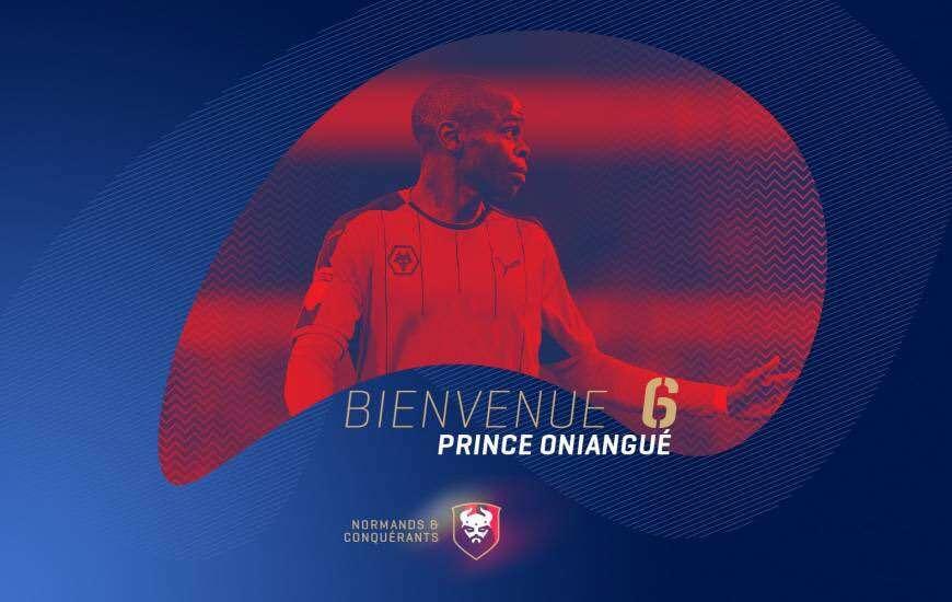 Caen officialise la venue d'Oniangué