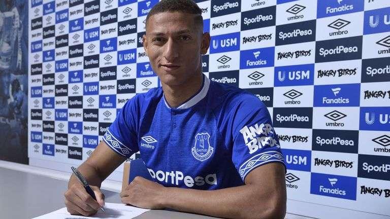 Officiel : Richarlison prolonge à Everton