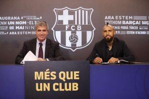 FC Barcelone : direction l'Angleterre pour Vidal ?