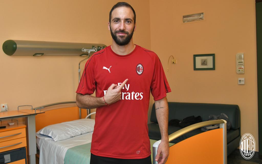 Higuain ne compte pas quitter Milan