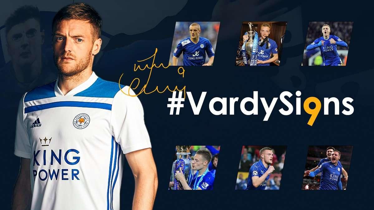 Officiel : Jamie Vardy prolonge à Leicester