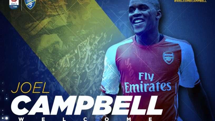 Joel Campbell en route pour l'Italie !