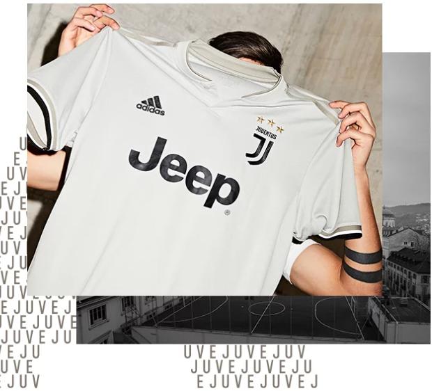 Juventus le maillot ext rieur 2018 2019 d voil for Maillot juventus 2018 exterieur