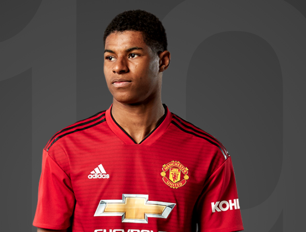Maillot Domicile Manchester United Marcus Rashford