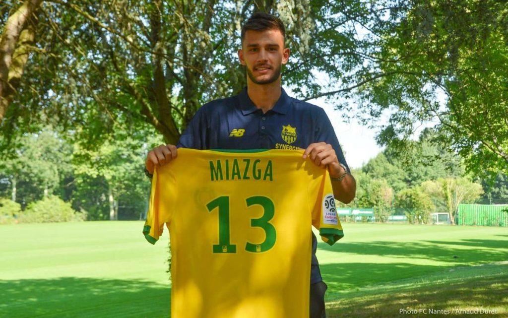 L'aventure de Miazga à Nantes touche à sa fin