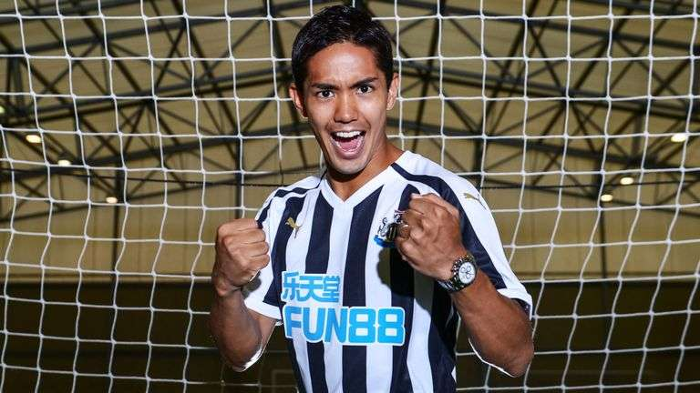 Officiel : Muto signe à Newcastle