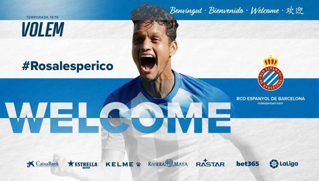 Officiel : L'Espanyol signe Rosales