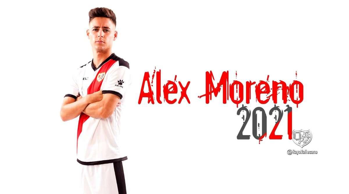 Officiel : Alex Moreno prolonge au Rayo