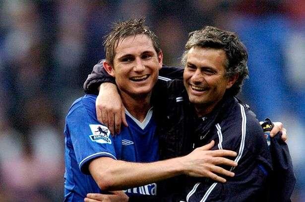 Frank Lampard retrouve José Mourinho