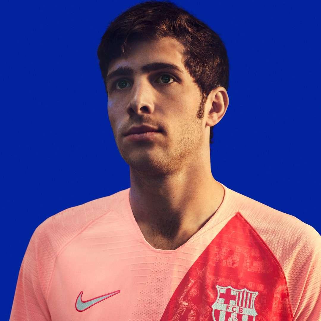 Maillot Extérieur FC Barcelona S. Roberto