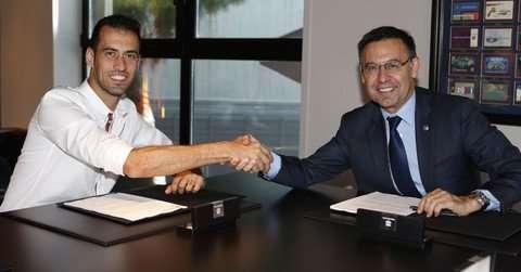 Officiel : Sergio Busquets rempile au Barça