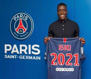 Le PSG recale un club anglais pour N'Soki
